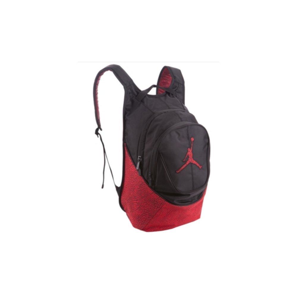 Amazon.com  Nike Air Jordan Jumpman Backpack - Red Black Elephant Pattern   Sports   Outdoors b4ac556cf105a