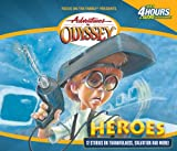 img - for Heroes: And Other Secrets, Surprises and Sensational Stories (Adventures in Odyssey, Gold Audio Series No. 3) book / textbook / text book