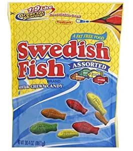 Swedish fish assorted soft and chewy candy for Swedish fish amazon