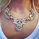 Lookatool Crystal Bridal Jewelry Sets Hotsale Necklace+earrings Jewelry Wedding