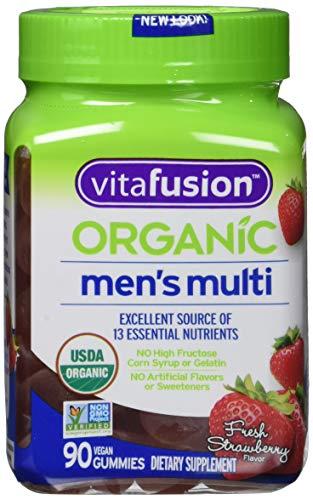 Vitafusion Organic Men's Gummy