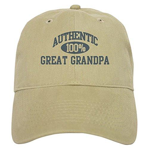CafePress Authentic Great Grandpa Cap Baseball Cap