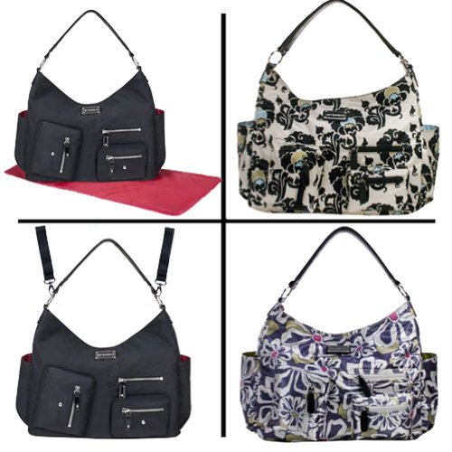 amy-michelle-charcoal-floral-lotus-bebe-stylish-satchel-diaper-bag