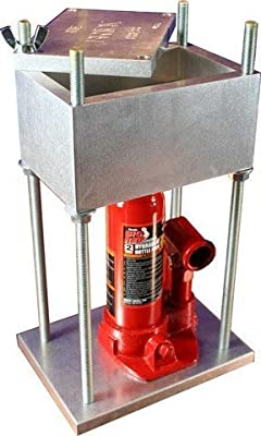 THE BRICK PRESS, #1 Best Selling 4-Ton Pollen Press in the World - 8,000 Lbs of Force!