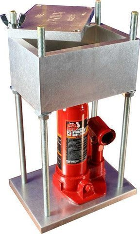 Discover Bargain THE BRICK PRESS, #1 Best Selling 4-Ton Pollen Press in the World - 8,000 Lbs of For...