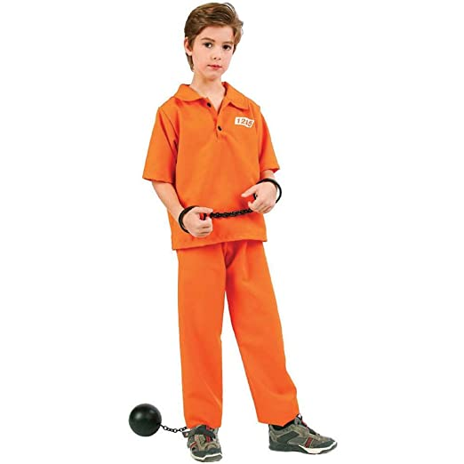 Not Guilty Prisoner Boy Kids Costume  sc 1 st  Amazon.com & Amazon.com: Not Guilty Prisoner Boy Kids Costume: Toys u0026 Games