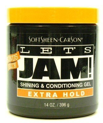 Hold Lets Jam - Let's Jam Shining & Conditioning Gel Extra Hold, 14oz (Pack of 6)