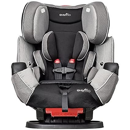 Evenflo Symphony LX All-in-1 Convertible Car Seat, Harrison Keep Your Little One Safe