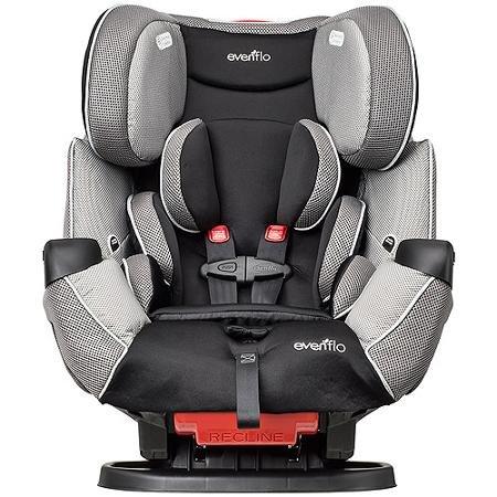 evenflo lx symphony car seat - 3