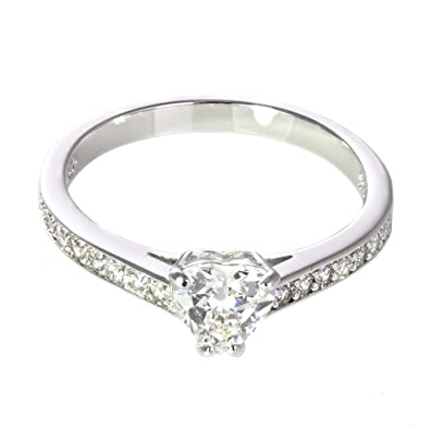 low priced to buy best price Swarovski Attract Heart Ring 5221389: Amazon.co.uk: Jewellery