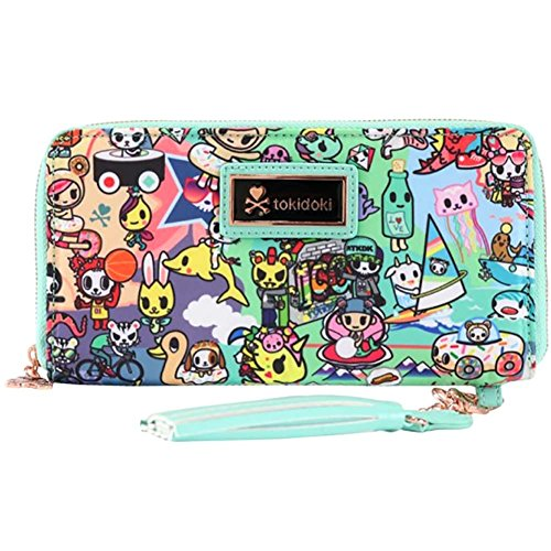 Tokidoki California Dreamin' Long Zip Wallet (Long Wallet Zip)