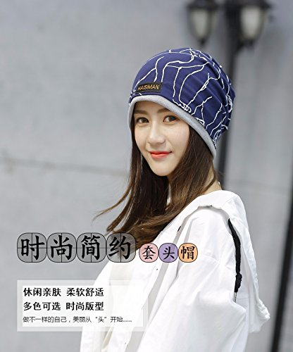 Generic The new animal bordered cap men and women fall and winter warm double printing piles of Korean fashion hat cap head protection cap month of by Generic (Image #2)