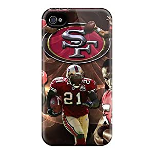 For Iphone Cases, High Quality San Francisco 49ers For Iphone 4/4s Covers Cases