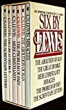 Image of Six by Lewis box set: The Abolition of Man, The Great Divorce, Mere Christianity, Miracles, The Problem of Pain, The Screwtape Letters
