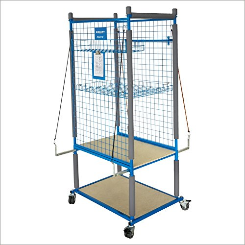 SOLARY PS312 Parts Cart Heavy Duty Mobile Storage Rack Shelf Garage Storage Shelves with 4 Wheels, 4 pcs of elastic ropes by Solary (Image #3)