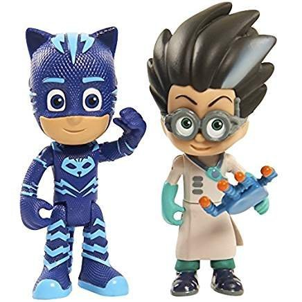 Pj Masks Romeo & Light Up Catboy Action Figure Set 3