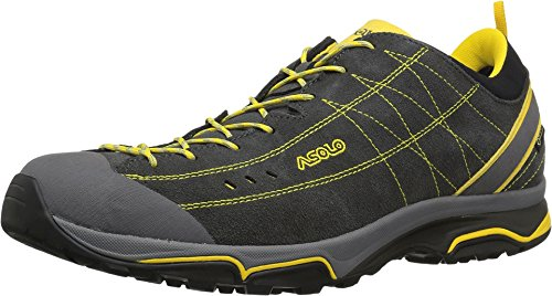Asolo Men's Nucleon GV Hiking Shoes Grafite/Giallo outlet for nice sale shop sale largest supplier 2015 cheap online 2BmNSn8l