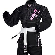 HAWK Jiu Jitsu Hawk Ladies Brazilian Jiu Jitsu Suit Female BJJ Gi Kimonos Women BJJ Uniform