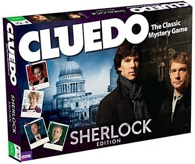 Winning Moves Cluedo Sherlock Edition Board Game by Winning Moves Cluedo Sherlock Edition Board Game: Amazon.es: Juguetes y juegos