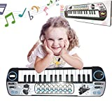 givision Piano for kids 32 Keys Electronic Mini piano keyboards Toy Musical Instrument Gift for childrens battery