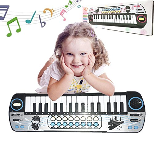 givision Piano for kids 32 Keys Electronic Mini piano keyboards Toy Musical Instrument Gift for childrens battery by givision