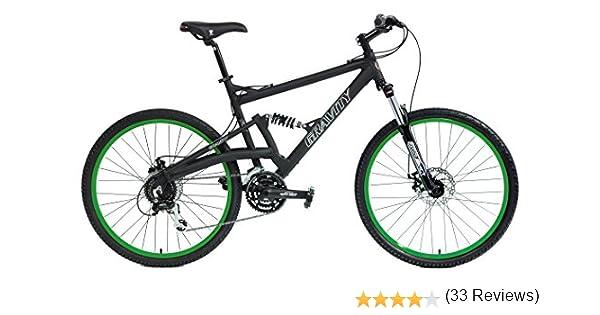 Desconocido 2018 Gravity FSX 2.0 Dual Full Suspension Bicicleta de montaña Shimano Acera Suntour: Amazon.es: Deportes y aire libre