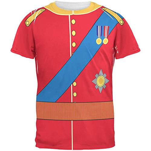 rming William Costume All Over Adult T-Shirt - 2X-Large ()