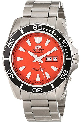 Mako Dive - Orient Men's 'Mako XL' Japanese Automatic Stainless Steel Diving Watch, Color:Silver-Toned (Model: FEM75001MW)