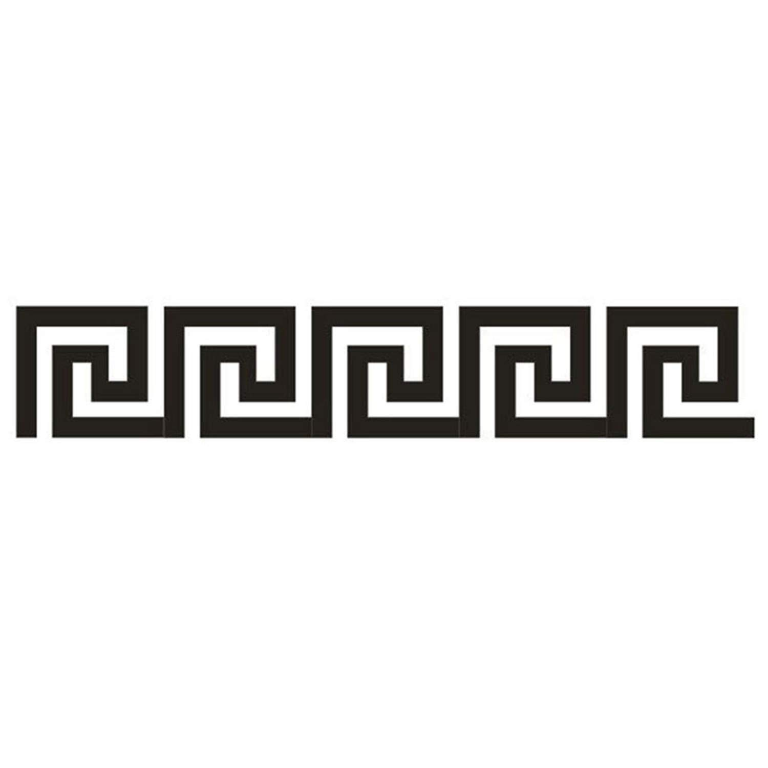 Amazon.com: Chitop (10 Pcs Home Decor Puzzle Labyrinth Acrylic Mirror Wall Decal - Best Art Stickers Decals (Black): Home & Kitchen