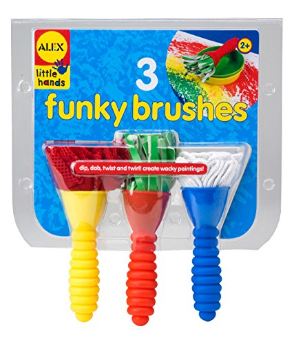 Alex Toys Little Hands 3 Funky Brushes ()