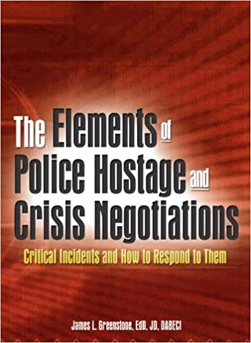 Image result for book the elements of police hostage and crisis