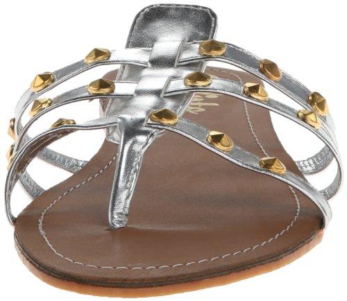 Callisto Womens Rose Gladiator Sandal Silver ZDWWJMcWhi