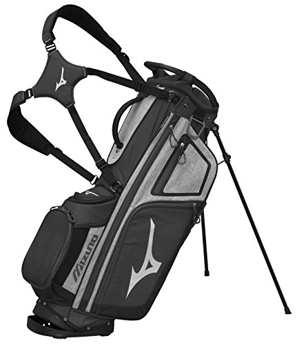 Mizuno 2018 BR-D4 Stand Golf Bag, Grey/black ()
