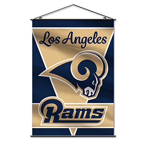 Fremont Die NFL Los Angeles Rams Unisex NFL Wall Banner, Navy, One Size by Fremont Die