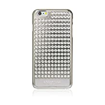 Bling My Thing Extravaganza Design Case with Swarovski Elements for iPhone 6 Plus - Retail Packaging - Metallic Silver/Silver