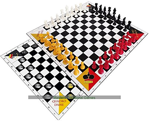 Quadro Chess and Draughts - 4 player