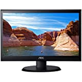 AOC e2050Swd 20-Inch Class Screen LED-Lit Computer Monitor, 1600 x 900 Resolution, 5ms, 20M:1DCR, VGA/DVI, VESA