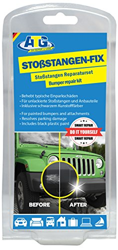 Do it yourself Plastic Repair Kit by ATG I 10-piece Bumper Repair Kit I Scratch removal treatment kit I car maintenance car care set I car repair in professional quality
