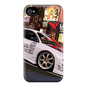 Anti-scratch And Shatterproof Mitsubishi Eclipse Phone Case For Iphone 4/4s/ High Quality Tpu Case