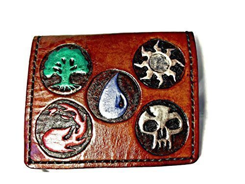 Handmade Leather Magic the Gathering (MTG) Mana Wallet by World of Leathercraft