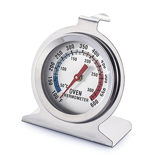 Purchase Siasky Oven Thermometer Precision Kitchen Food Meat High Heat Large Dial Stainless Steel Ov...