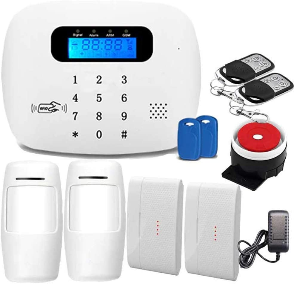 Sky God Sistema Alarma Seguridad gsm 3G 4G WiFi para Equipos Alarma Antirrobo Dom/ésticos y Corporativos para Una F/ácil Instalaci/ón