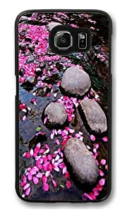 Happiness without end 7 Custom Samsung Galaxy S6/Samsung S6 Case Cover Polycarbonate Black wangjiang maoyi