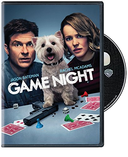 DVD : Game Night (Standard Edition, Dubbed, Subtitled, Eco Amaray Case, Dolby)