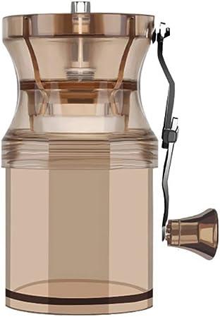 SDKFJ Cafetera Molinillo de café acrílico, Molino de manivela de ...