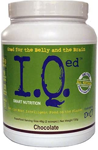 IQed Smart Nutrition All in One Nutritional Shake (Chocolate)