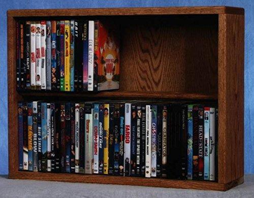 24.25 in. Dowel DVD Storage (Dark) by Wood Shed (Image #2)