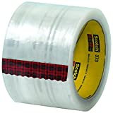 Ship Now Supply SNT9055373 3M 373 Carton Sealing Tape, 2.5 Mil, 3'' x 110 yd., Clear (Pack of 24)