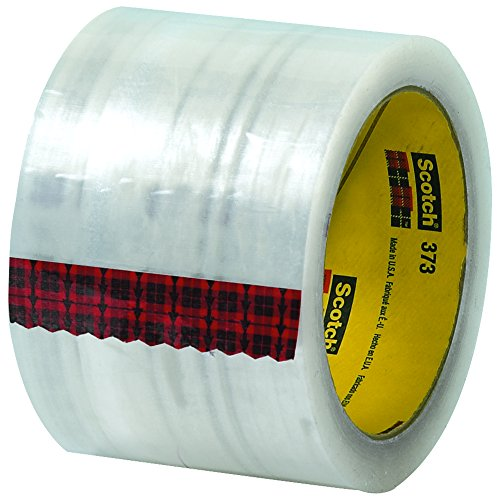 Ship Now Supply SNT9055373 3M 373 Carton Sealing Tape, 2.5 Mil, 3'' x 110 yd., Clear (Pack of 24) by Ship Now Supply