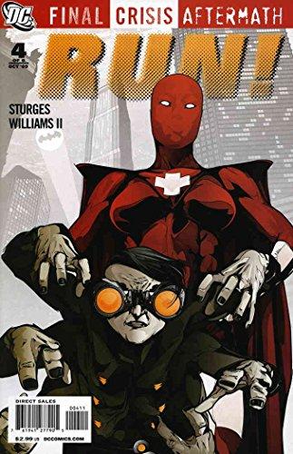 Final Crisis Aftermath: Run! #4 VF/NM ; DC comic book